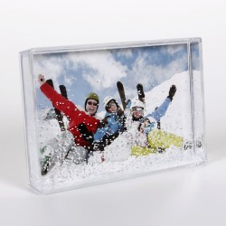 Plexi box neige photo